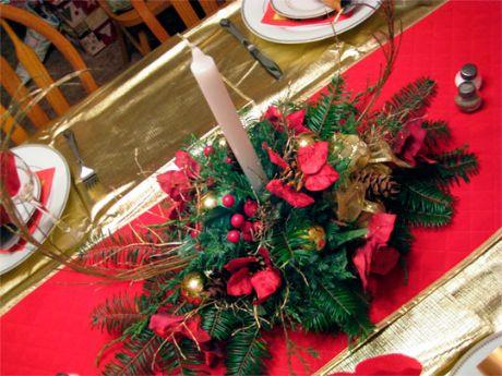 Como hacer Centros de Mesa de Navidad Como hacer