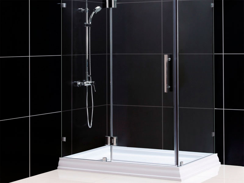 Como instalar una mampara de ducha como hacer - Como hacer una mampara ...