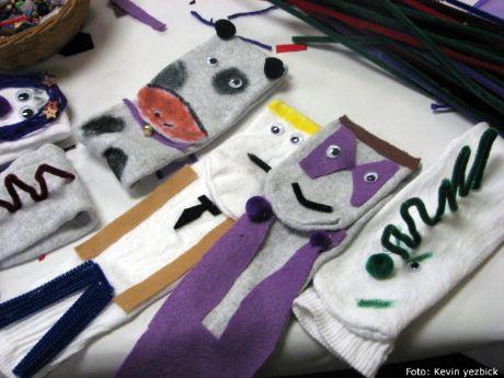 Como hacer marionetas y titeres con calcetines | Como hacer