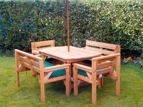 Como limpiar los muebles de jard n como hacer - Muebles de madera de jardin ...