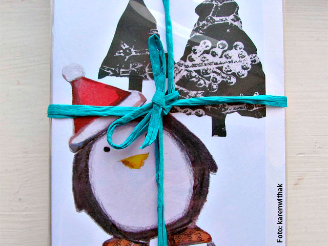 Como hacer tarjetas de navidad como hacer - Hacer postales navidad ...